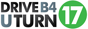 Drive B4 U Turn 17 Logo