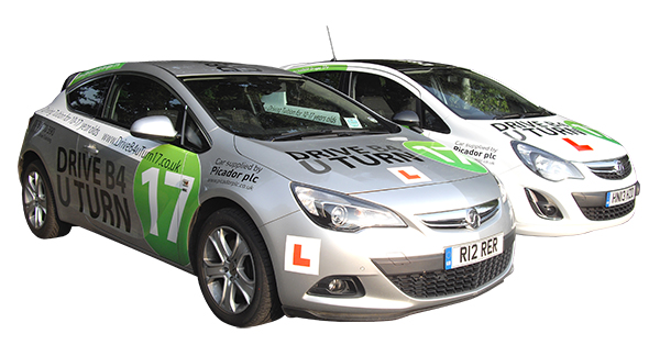 Under 17's Driving Lessons Cars